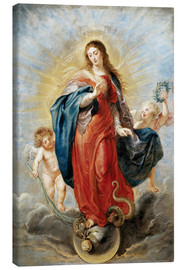 Lienzo  Immaculate Conception - Peter Paul Rubens