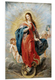 Cuadro de PVC  Immaculate Conception - Peter Paul Rubens