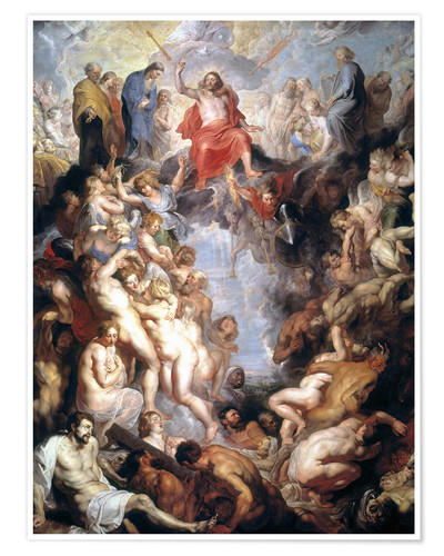 Póster The (large) Last Judgement