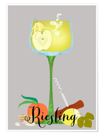 Póster Riesling