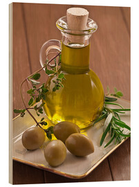 Edith Albuschat - Olive oil and olives
