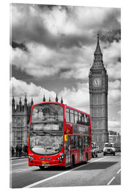 Melanie Viola - Big Ben and Red Bus