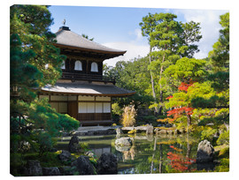 Lienzo  Ginkakuji Temple - Jan Christopher Becke