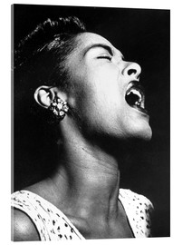 Cuadro de metacrilato  Billie Holiday