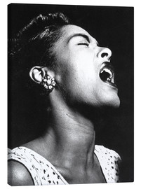 Lienzo  Billie Holiday