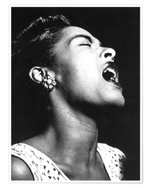 Póster  Billie Holiday