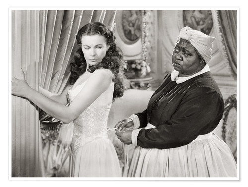 Póster Gone With The Wind, 1939