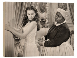 Cuadro de madera  Gone With The Wind, 1939