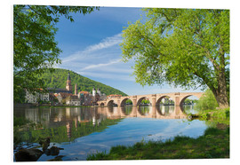 Cuadro de PVC  Heidelberg in spring - Jan Christopher Becke
