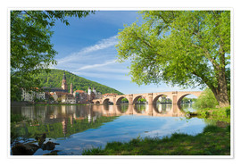 Póster  Heidelberg in spring - Jan Christopher Becke