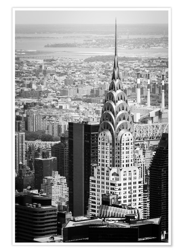 Póster Edificio Chrysler en Nueva York