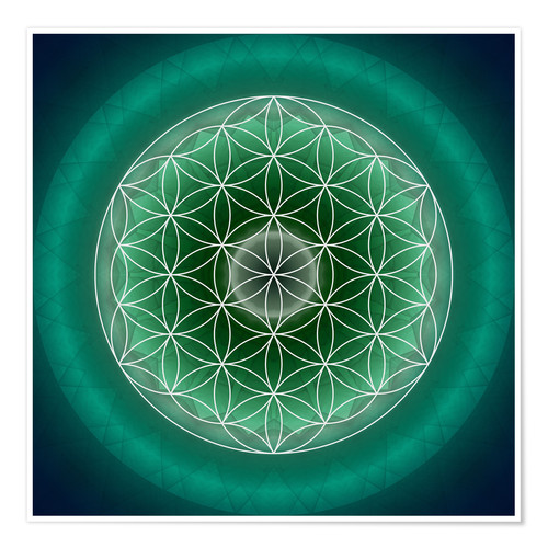 Póster Flower of Life 11