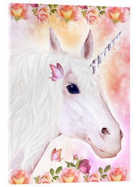Metacrilato  Loving Unicorn - Dolphins DreamDesign