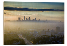 Madera  Los Angeles skyline in the morning mist - Walter Bibikow