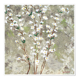 Póster Pear Blossoms I