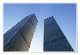 Póster  Twin Towers of the World Trade Centre - Sue Cunningham
