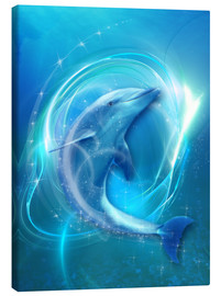 Lienzo  Dolphin Energy - Dolphins DreamDesign