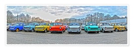 Póster  GDR Trabant, colección Trabant - HADYPHOTO