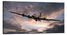 Lienzo  The Flying Fortress - airpowerart