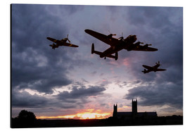 Cuadro de aluminio  Memorial Sunset - airpowerart