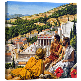 Lienzo  Ancient Greece - Roger Payne
