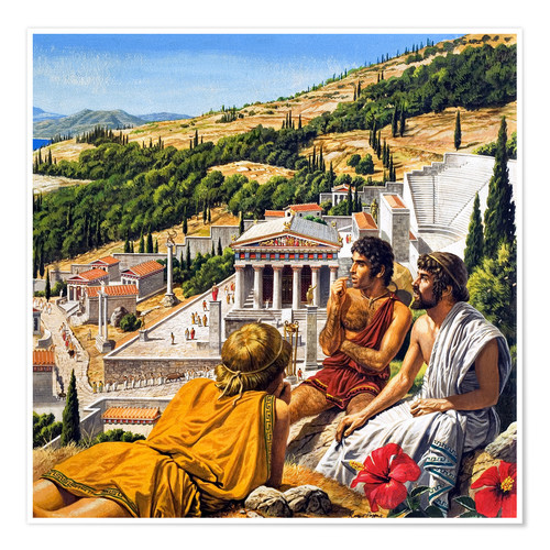 Póster Ancient Greece