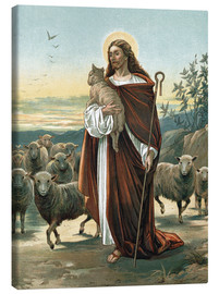 Lienzo  The good shepherd - John Lawson