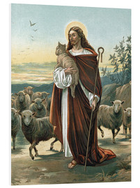 Cuadro de PVC  The good shepherd - John Lawson