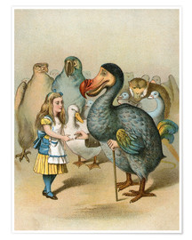 Póster The Dodo solemnly presented the thimble from Alice's Adventures in Wonderland