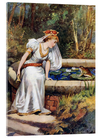 Cuadro de metacrilato  The Frog Prince - William Henry Margetson