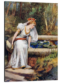Aluminio-Dibond  The Frog Prince - William Henry Margetson