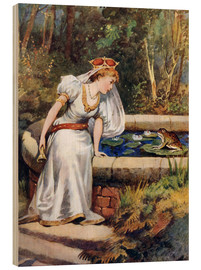 Cuadro de madera  The Frog Prince - William Henry Margetson
