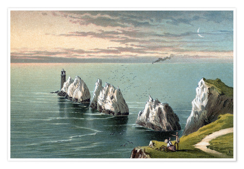 Póster The Needles--Isle of Wight