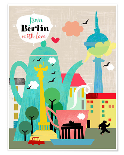Póster From Berlin with love