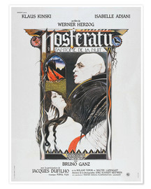 Póster  Nosferatu The Vampyre, French Poster