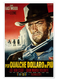 Póster  For a few dollars more