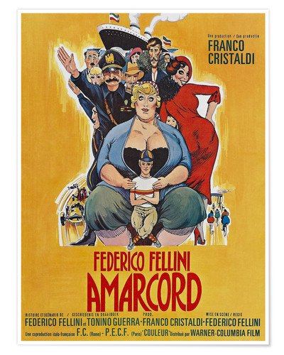 Póster Amarcord