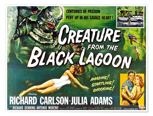 Póster Creature from the Black Lagoon