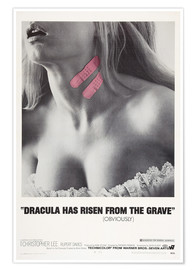 Póster  Dracula Has Risen from the Grave