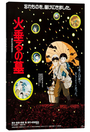 Lienzo  Grave of the Fireflies