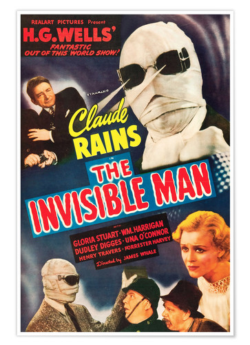 Póster THE INVISIBLE MAN
