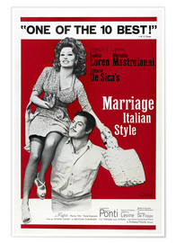 Póster  Marriage Italian Style