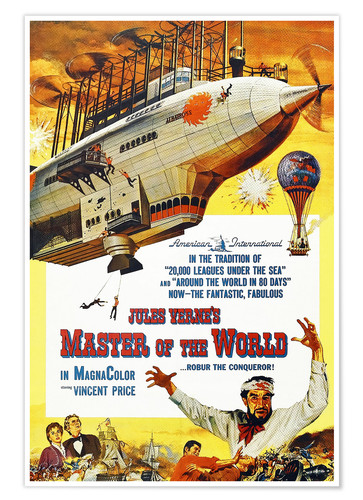 Póster Master of the World