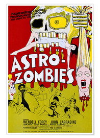 Póster  THE ASTRO-ZOMBIES, 1968