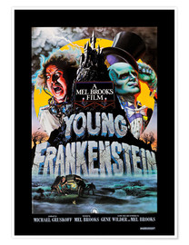 Póster  Frankenstein Junior, 1974 (inglés)