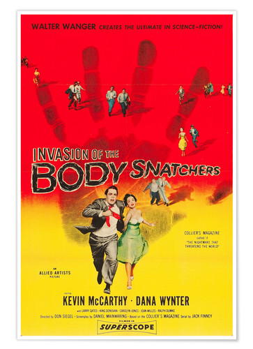 Póster INVASION of the Body Snatchers