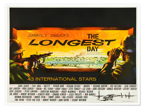 Póster THE LONGEST DAY, 1962