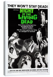 Lienzo  Night of the Living Dead