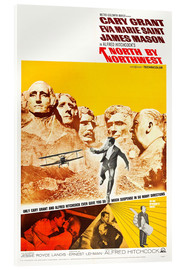 Cuadro de metacrilato  North by Northwest