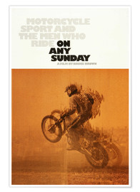 Póster ON ANY SUNDAY, 1971 (inglés)